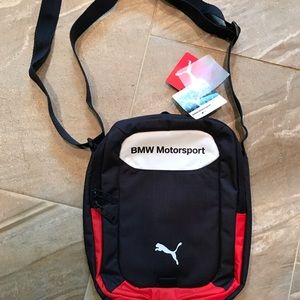 Deadstock BMW MOTORSPORT Shoulder Bag NWT